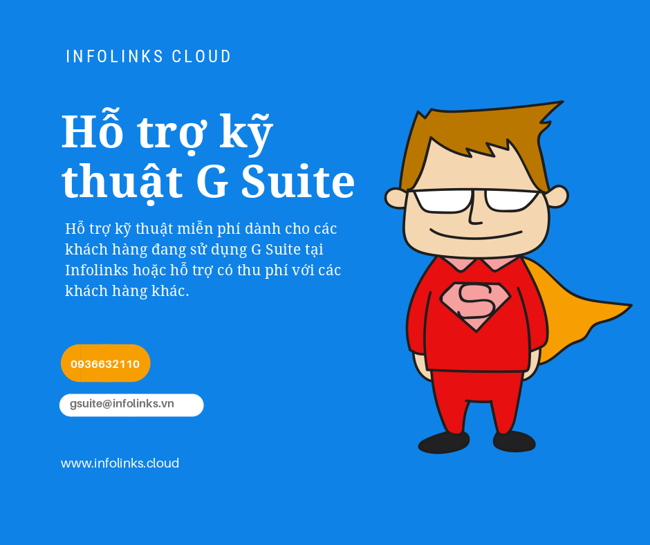 Hỗ trợ kỹ thuật G Suite