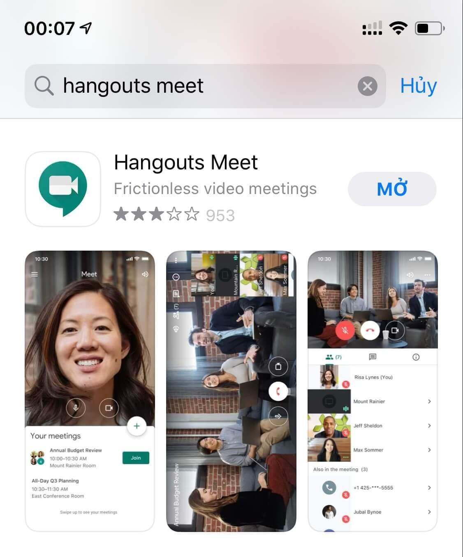 Google-Hangouts-Meet-App